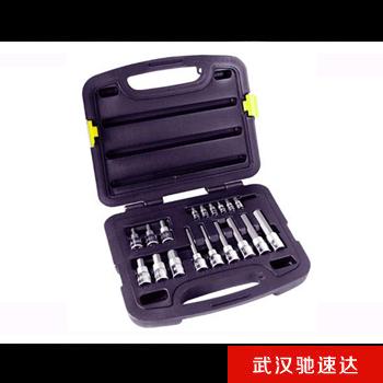 18件套6.3MM,12.5MM系列旋具套筒组套