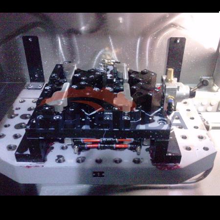 多工位手动夹具